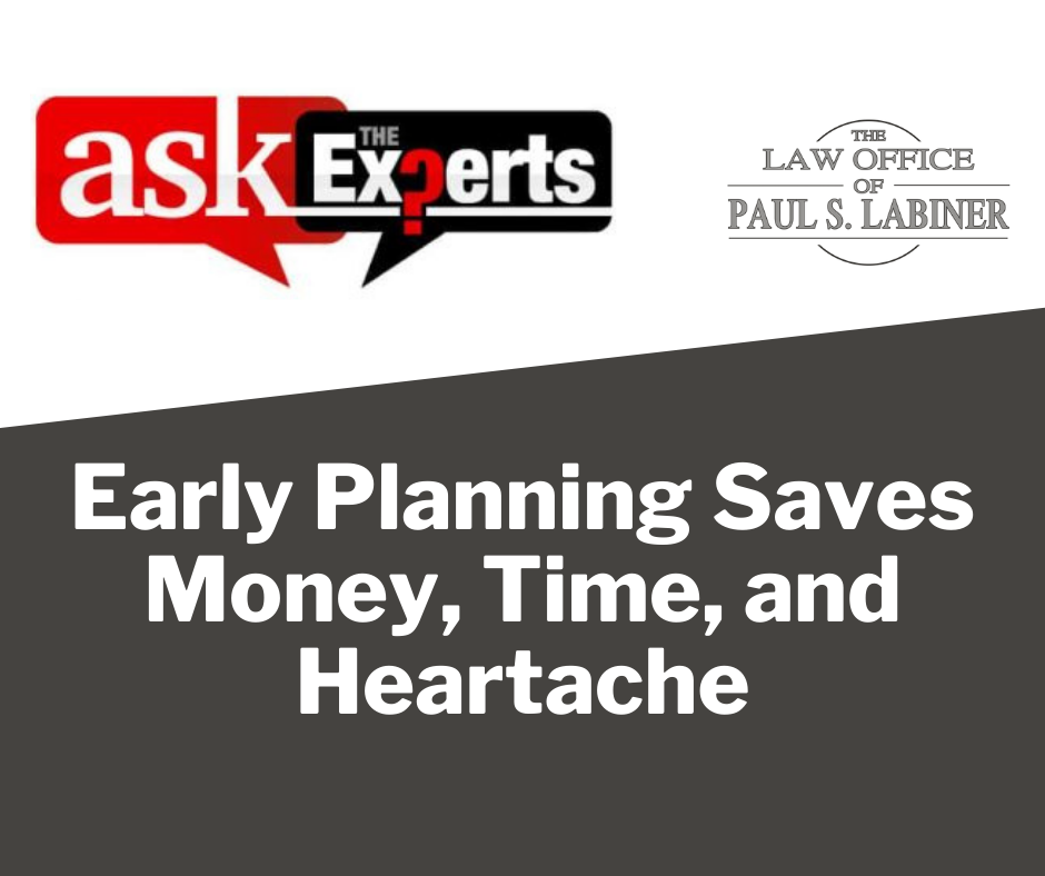 estate planning timeframe
