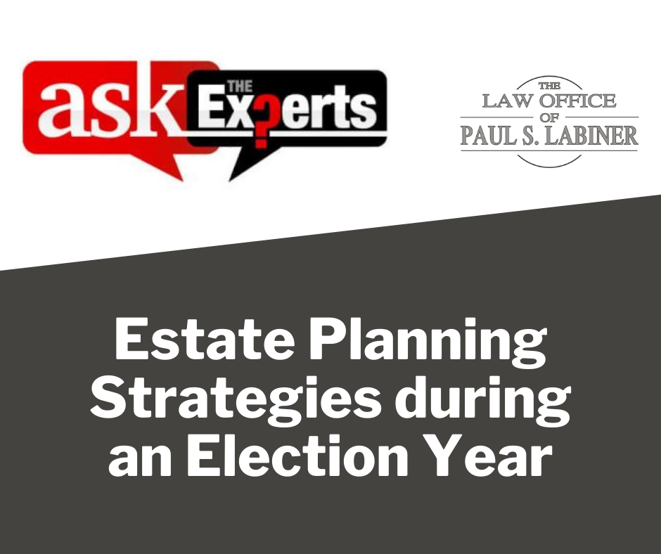 estate planning for future presidents
