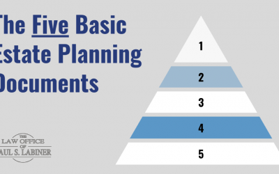 Your Five Basic Estate Planning Documents