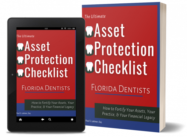 Asset Protection Checklist Dentists