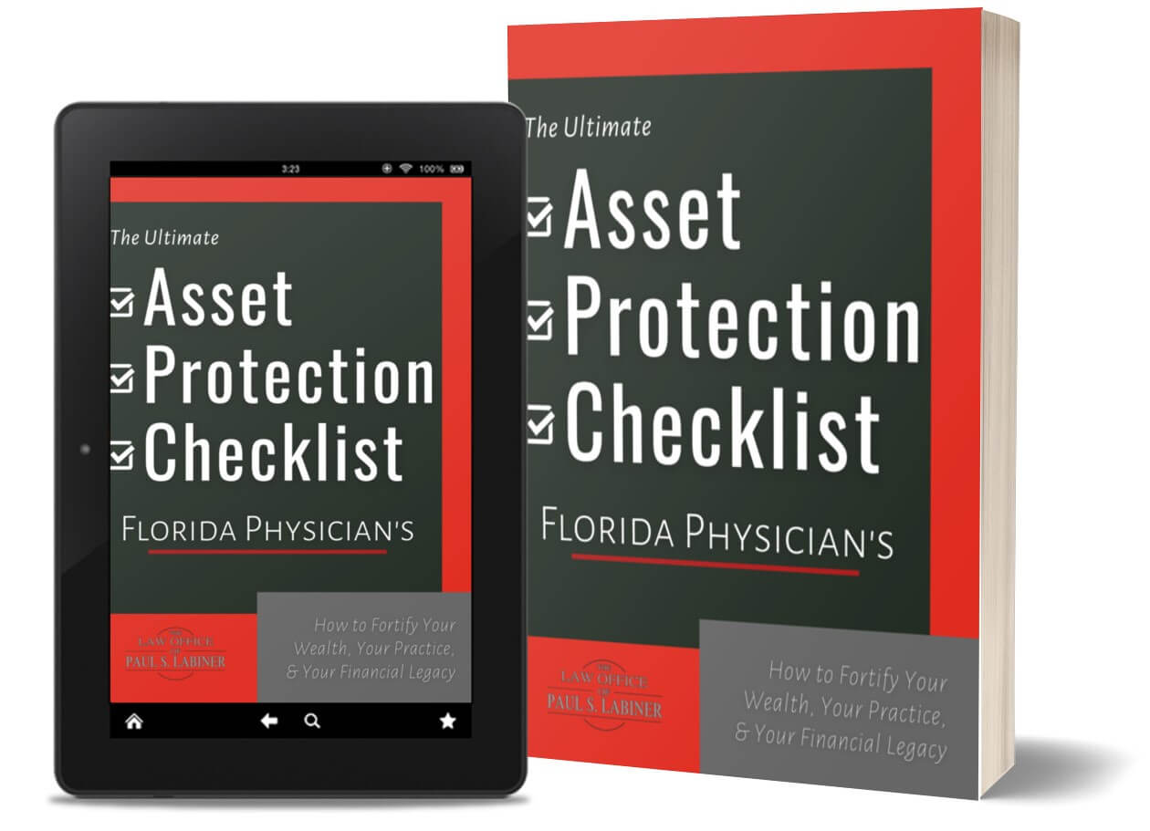 asset protection checklist